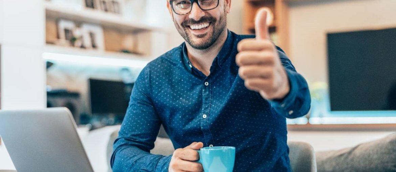 Como aumentar a motivação em home office com clube de benefícios