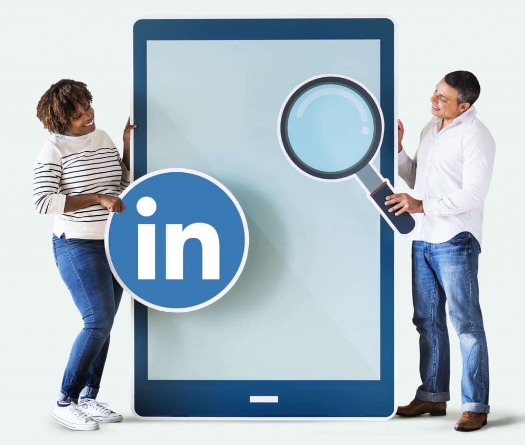 Mantenha o perfil atualizado no LinkedIn perfil atraente