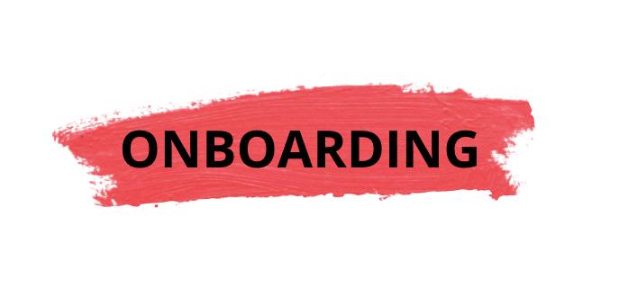 Jornada da experiência: onboarding